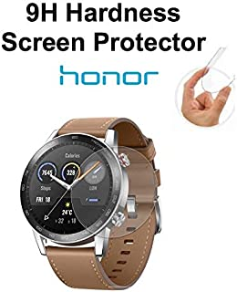 Gear Guard 9H Hardness Screen Protector for Honor Magic Watch 2, 46mm (Pack of 2)
