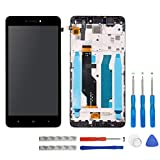 swark LCD Display für Xiaomi Redmi Note 4X / Note 4 Global (Qualcomm Snapdragon 625 CPU) Schwarz Touchscreen Digitizer Assembly Glas + Rahmen+Tools