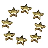Create Idea 1x Kristall Strass Stern Magnet Vorhang Krawattenklammer Haken R/ücken Halter Raffhalter Dekor Silber