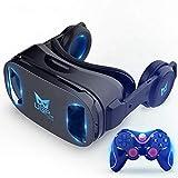 UGP VR Headset Virtual Reality Headset VR Games 3D Glasses VR Game Controller VR Gamepad VR Helmet for Mobile Phone…