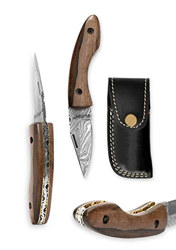 Outstanding - Handcrafted Damascus Pocket Knife - Legal to Carry
