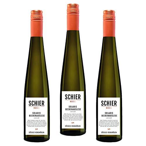Solaris Beerenauslese - Weißwein mit Prädikat - Dessertwein - edelsüß - 3 Flaschen (3x 375ml)