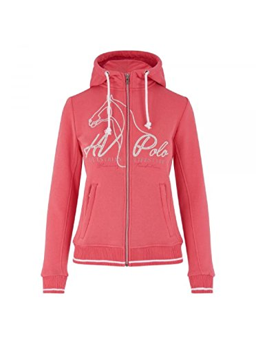 HV Polo Sweat Jacke Hoody Paulette rasperry - XS