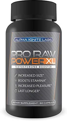 Pro Raw Power XL Testosterone Booster For Men Max Power Herbal Mens Testosterone Booster Boost product image