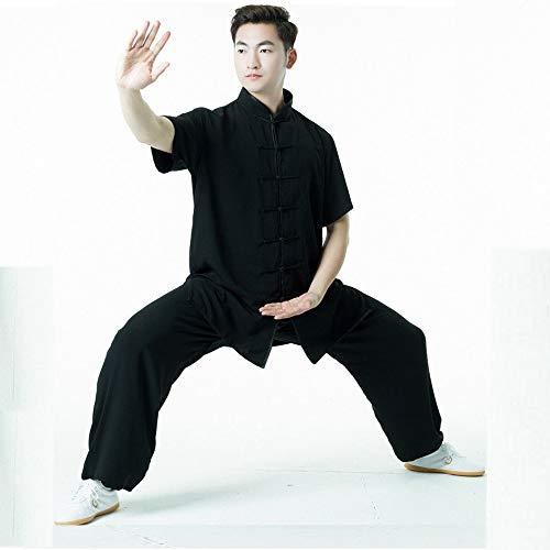 CHIYA Artes Marciales Tai Chi Uniforme Ropa de Kung fu Traje de Wushu de Media Manga