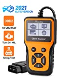 OBD2 Scanner, Car Code Reader, Universal Diagnostic Tool for Check Engine Light, Easy Auto Vehicle Scan Tool for All OBDⅡ Car After 1996