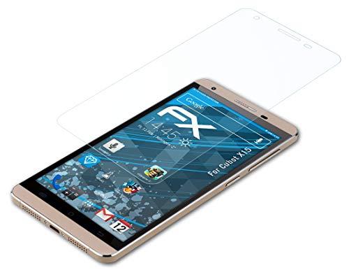 atFolix Schutzfolie kompatibel mit Cubot X15 Folie, ultraklare FX Bildschirmschutzfolie (3X)