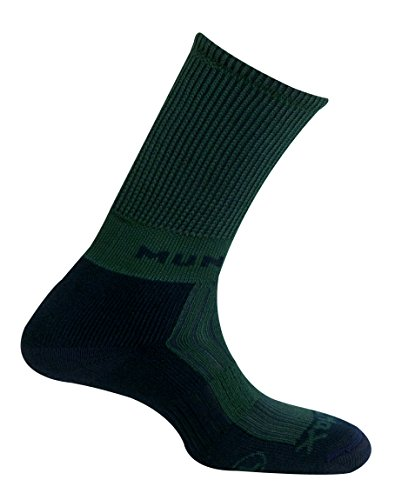 MUND Pirineos Chaussettes pour Femme Vert, Vert, S (34-37)