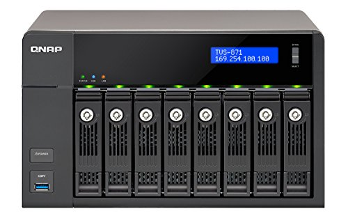 QNAP TVS-871-i7-16G NAS, 0/8HDD, Nero