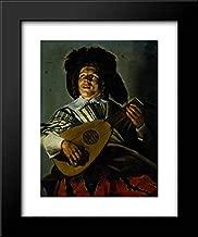 The Serenade 20x24 Framed Art Print by Judith Leyster