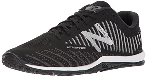 New Balance Men's Minimus 20 V7 Cross Trainer, Black/White, 10.5 M US
