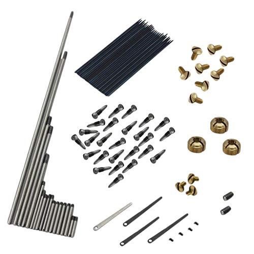 HomeDecTime Piezas De Reparación De Saxofón Alto Tornillos Geles Saxofón Conjunto De - 94 piezas