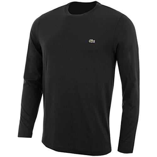 Lacoste Regular Fit Girocollo Lungo Maniche T-shirt XL Black