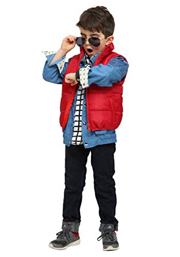 Back to The Future Marty McFly Toddler Costume, 18 months to 4T. COmes with or without hoverboard prop