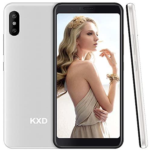 Cellulare KXD 6C Smartphone sbloccato senza SIM, Smartphone Android 4G economico, Schermo intero da 5,5 , 16 GB ROM, Face ID, 2.500 mAh, fotocamera tripla, Dual SIM Telefoni Offerta del Giorno