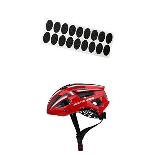 SM SunniMix Casco de Bicicleta de Seguridad para Adultos, Luz USB para Hombres, Mujeres, Buena Venta - Rojo, Los 56-59cm