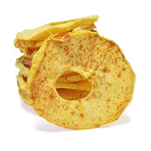 Apfelringe Zimt   ohne Zucker   nur Apfel und Zimt, ungeschwefelt 125 g