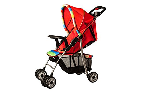 U-Grow Baby Stroller/Pram/Buggy, Extra Large Seating Space, Easy Fold, with Wheel Brakes & Adjustable Backrest for Newborn...