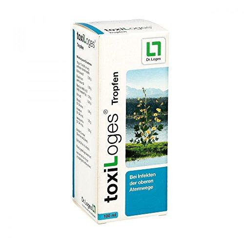 toxiLoges® Tropfen 100 ml - Multikomplex für alle Phasen der Erkältung - Homöopathisches Arzneimittel - Starke Hilfe aus der Natur bei den häufigsten Beschwerden wie Halsschmerzen, Schnupfen, Husten