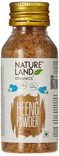 Natureland Organics Heeng Powder 50 Gm - Organic Heeng
