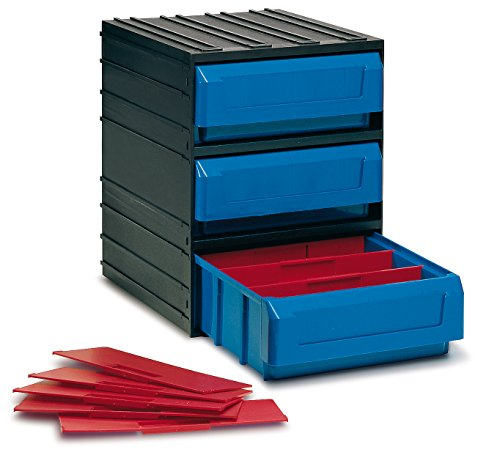 Tayg 350009 Contenedor cajón 300/3, negro-azul