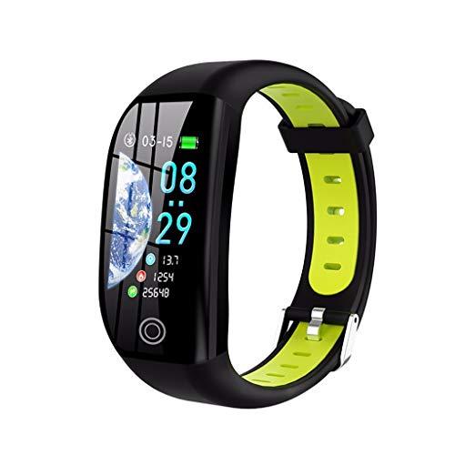 Monitores de actividad Fitness Activity Tracker IP68 1.14 pulgadas TFT Pantalla de color inteligente Pulsera inteligente, RECORDATORIO DE LLAMADA DE SOPORTE RECORDACION DE CALUDA Presión arterial Sueñ