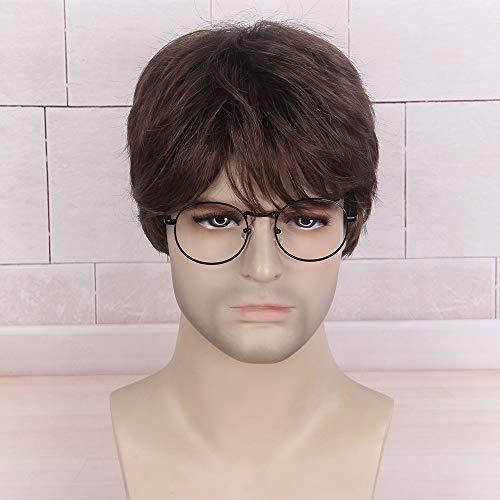 comprar pelucas hombre rizado on-line