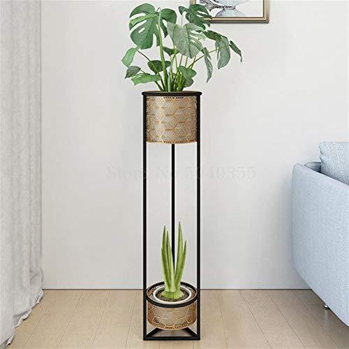 YSNUK Pote Europea estantería de Flores de Hierro Forjado en Rack Que Viven en casa Moderna Sala Interior Minimalista bastidores de Plantas nórdicos (Color : 100cm)