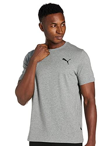 PUMA ESS Small Logo tee Camiseta, Hombre, White, XL