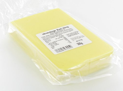 Wilmersburger Block Würzig - 300 g laktosefreies, veganes Käse Stück
