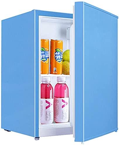 showyow Mini refrigerador Debajo del mostrador de 55L, Temperatura Ajustable, Independiente, de Baja energía, Compacto, portátil, de bajo Ruido, Material Seguro para la Mesa