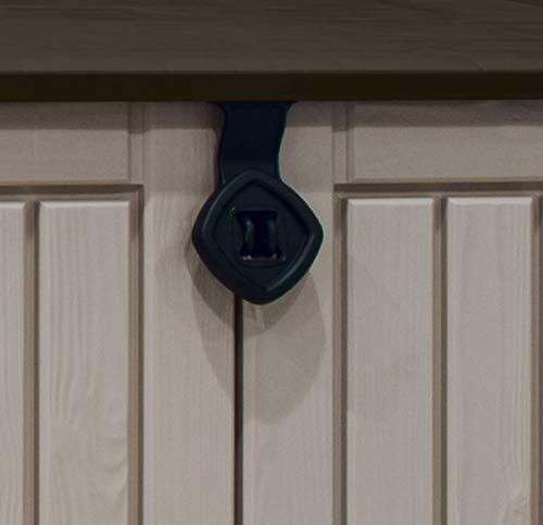 Keter 17197253 Aufbewahrungsbox Woodland, Kunststoff, Beige/Light Maroon - 5