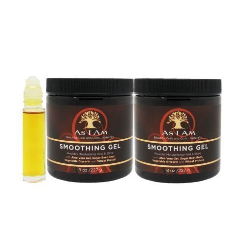 As I Am Smoothing Gel 8oz Pack of 2 by I Am