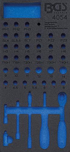 BGS 4054-1 | Werkstattwageneinlage 1/3 | leer | für Art. 4054