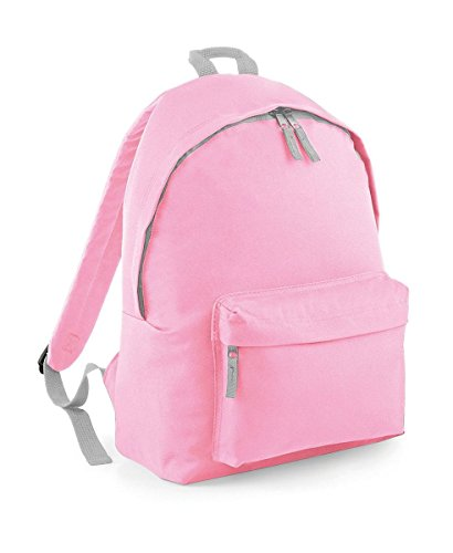 BagBase Junior Fashion Mochila, 14L, One Size Luminoso, Color Rojo