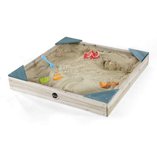 Plum 25083AB Sandkasten für Kinder, Holz, Teal