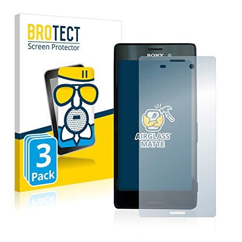 BROTECT Protector Pantalla Cristal Mate Compatible con Sony Xperia M4 Aqua Protector...