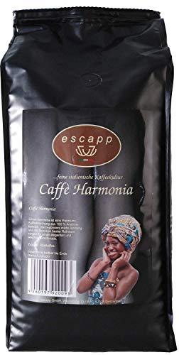 escapp Kaffee Harmonia Arabica Espresso 1kg gemahlene Bohnen