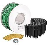 ONVAYA® Accesorios para robot cortacésped, juego de reparación que incluye cable de limitación para robot cortacésped,...