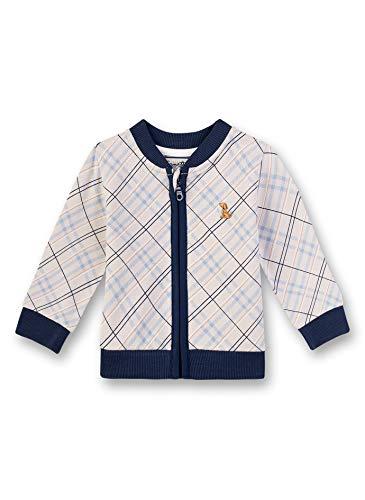 Sanetta Baby-Jungen Fiftyseven Sweatjacke, Grau (Grau 1994), 80 (Herstellergröße: 080)