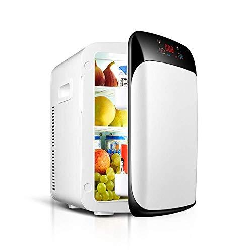 WangT Draagbare elektrische koelbox, 18 liter, met vriesvak, 12 V/220 V, geschikt voor auto's, gezinnen, outdoor, camping