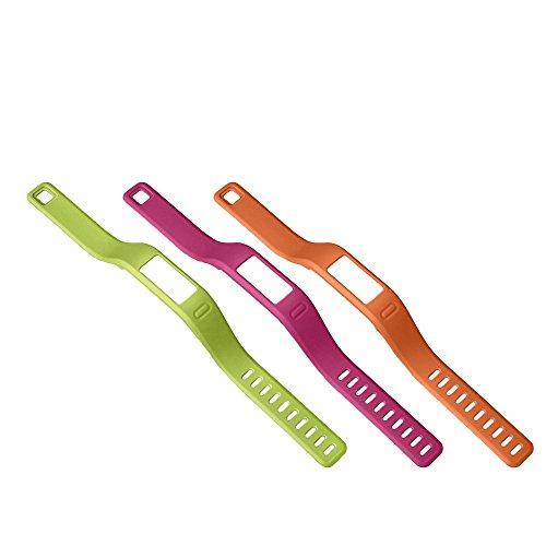 Garmin Ersatzarmband Vivofit, Orange/Pink/Grün, L, 010-12149-15