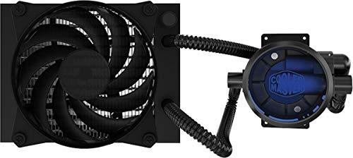 Cooler Master MasterLiquid Pro 120 CPU Water Cooler 'Radiateur de 120mm, 2x MasterFan Pro 120 AB PWM Ventilateur, LED Bleu' MLY-D12X-A20MB-R1