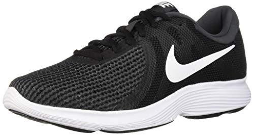 Nike Men's Revolution 4 Running Shoe, Black/White - Anthracite, 6 Wide US