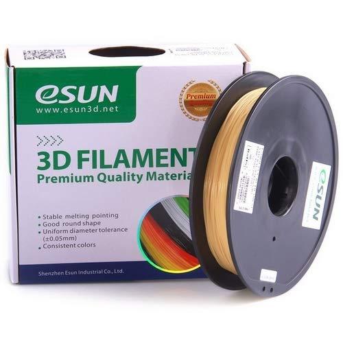 eSun Filamento PVA para impresora 3D, 1,75 mm, 500 g, natural