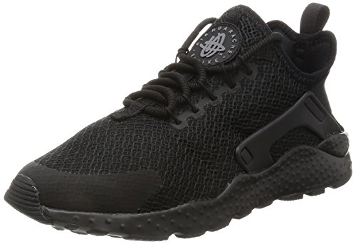 Nike Damen W Air Huarache Run Ultra Laufschuhe,Schwarz (Black/black/dark Grey),38 EU
