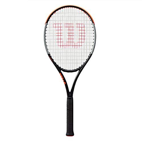 Raquetas De Tenis para Adultos De Fibra De Carbono Tenis Casual Individual Masculina Y Femenina Profesional Método De Enhebrado: 18 × 16 (Color : Photo Color, Size : 27inches)