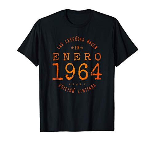 Las Leyendas nacen en Enero de 1964 - Regalo de 57 años Camiseta