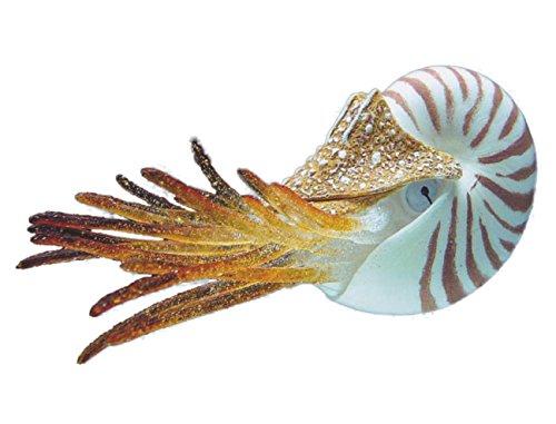 Nobby Nautilus Fantasía Acuario Decoración, 10 cm
