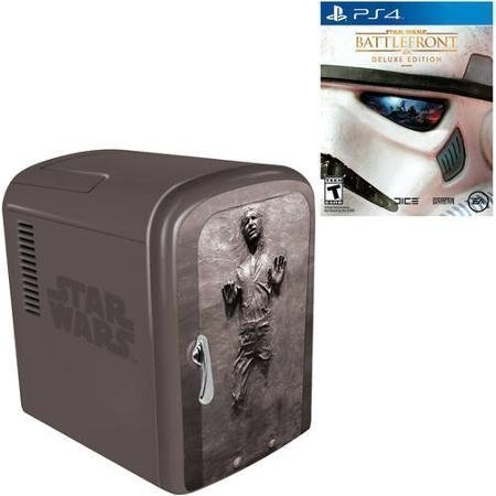 Star Wars Battlefront Deluxe Edition (PS4) with Han Solo Fridge